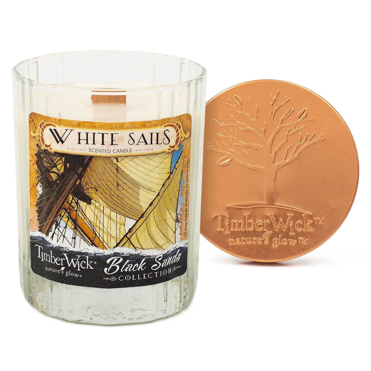 Timberwick White Sails Scented Candle Timberwick Candlemart.com $ 9.99