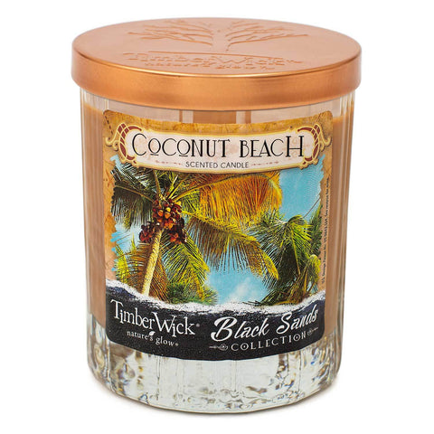 Timberwick Coconut Beach Scented Candle Timberwick Candlemart.com $ 9.99