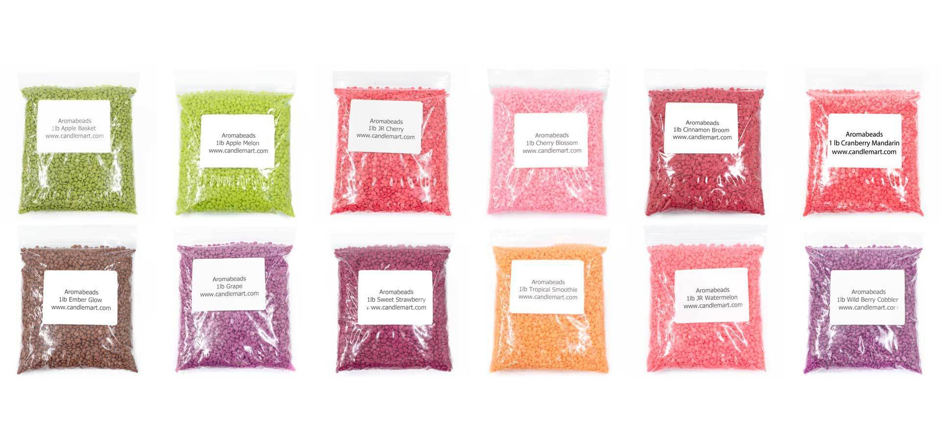 Aromabeads Singles Coral Honeysuckle Bulk Wax Beads Melts Candlemart.com $ 6.99