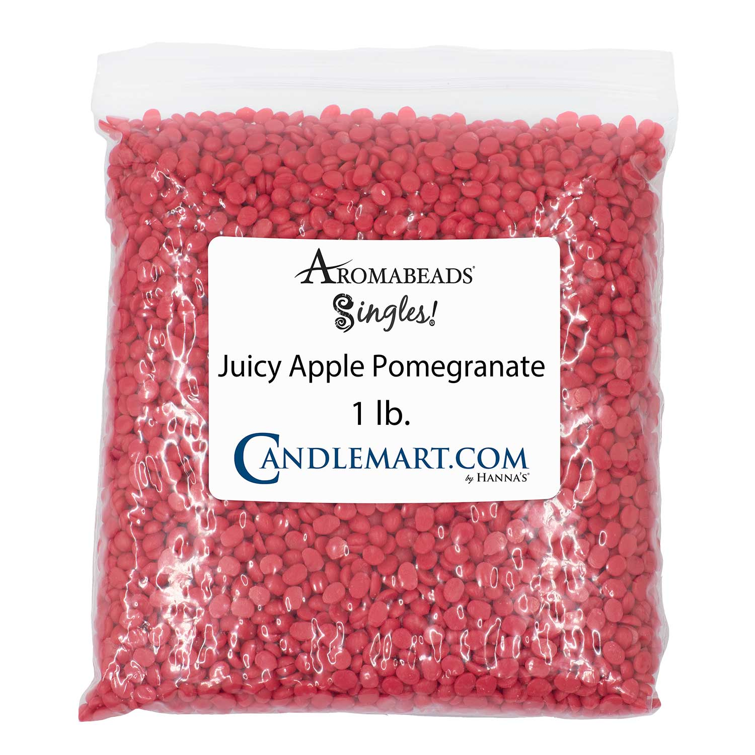 Aromabeads Singles Juicy Apple Pomegranate Bulk Wax Beads Melts Candlemart.com $ 9.99
