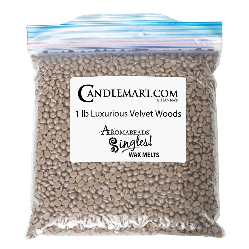 Aromabeads Singles Luxurious Velvet Woods Bulk Wax Beads
