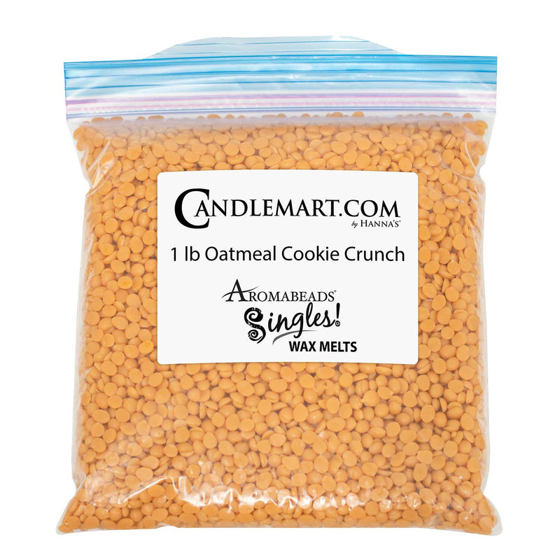 Aromabeads Singles Oatmeal Cookie Crunch Bulk Wax Beads