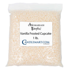 Aromabeads Singles Vanilla Frosted Cupcake Bulk Wax Beads Melts Candlemart.com $ 6.99