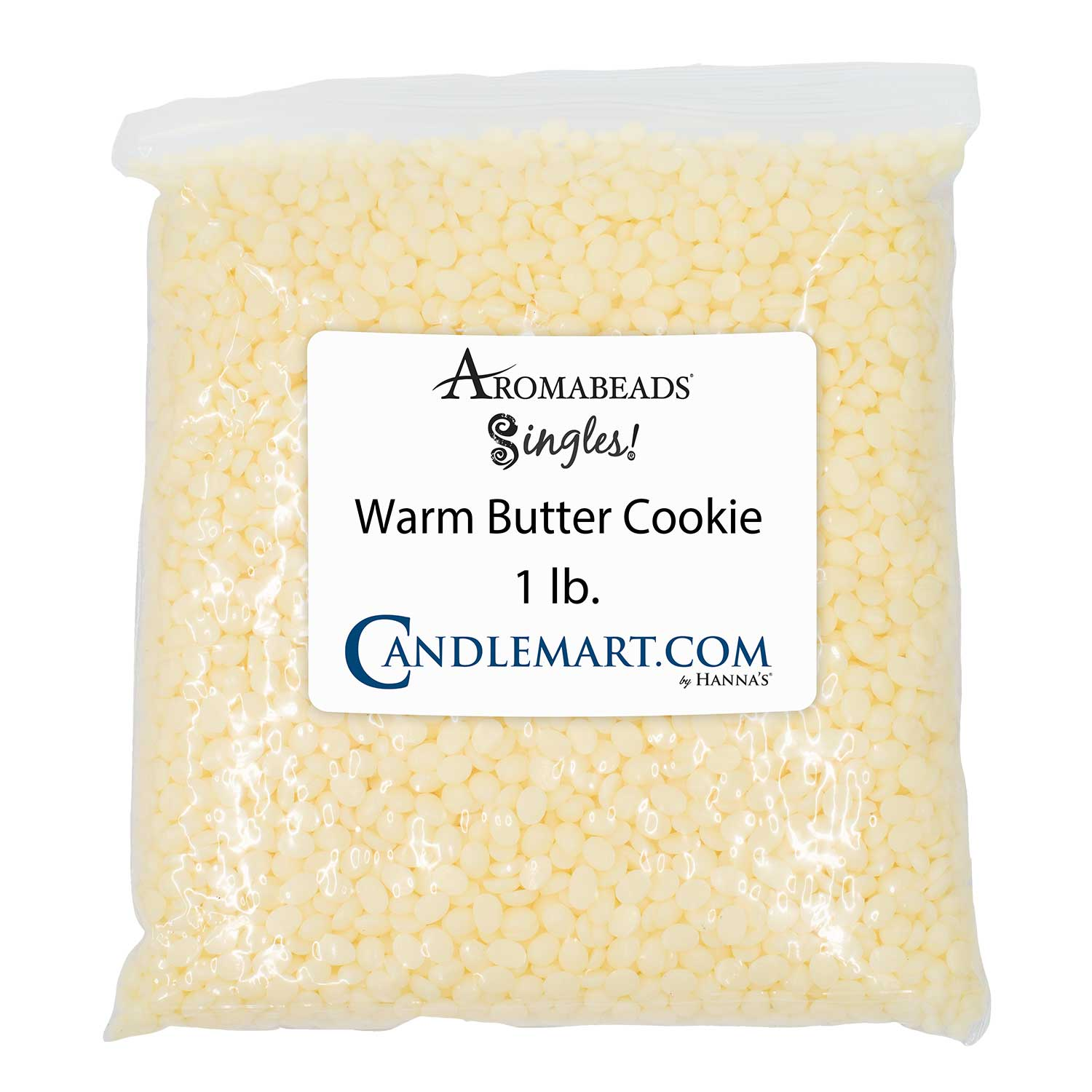Aromabeads Singles Warm Butter Cookie Bulk Wax Beads