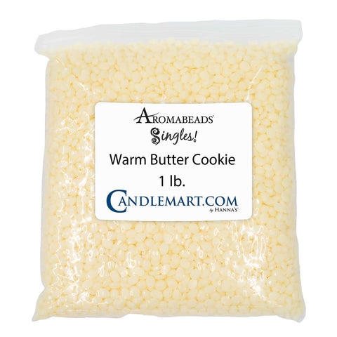 Aromabeads Singles Warm Butter Cookie Bulk Wax Beads Melts Candlemart.com $ 4.99