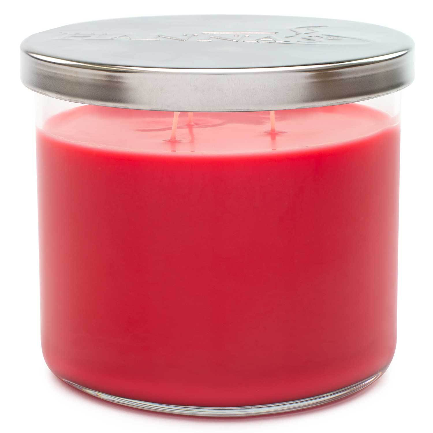 Berries & Blooms Scented Large 3 wick Candle