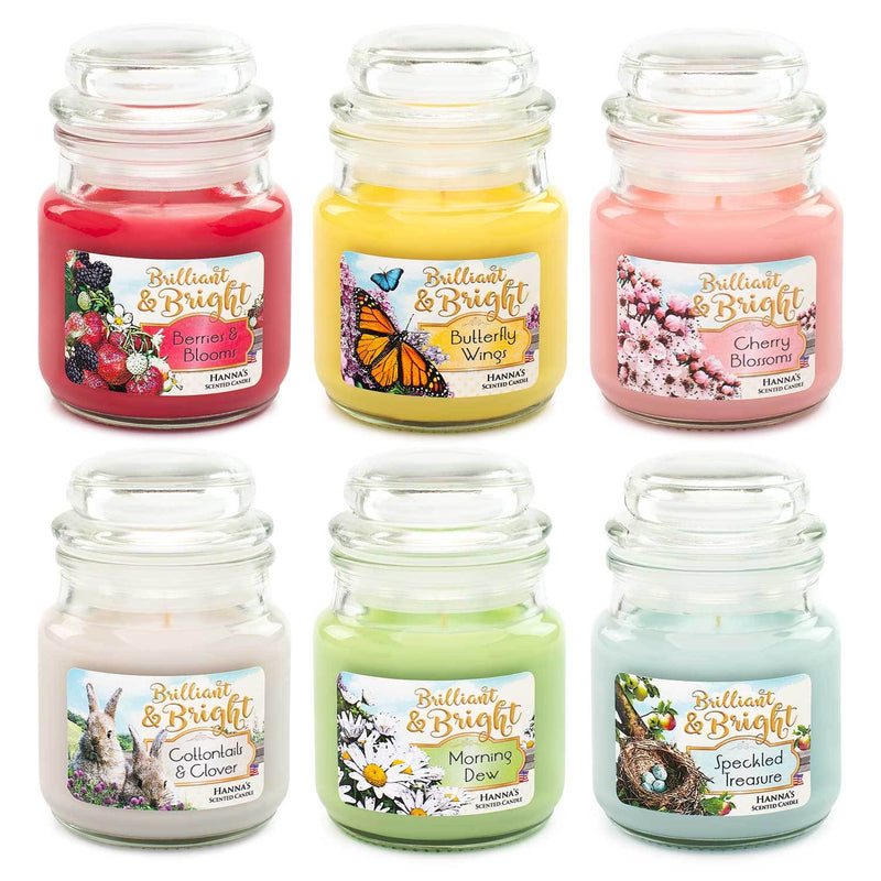 Cottontails & Clover Scented Mini Candle