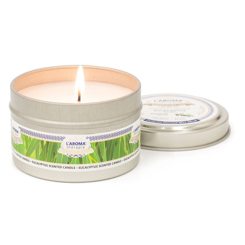 Eucalyptus Essential Oil Tin Candle