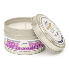Lavender Essential Oil Tin Candle