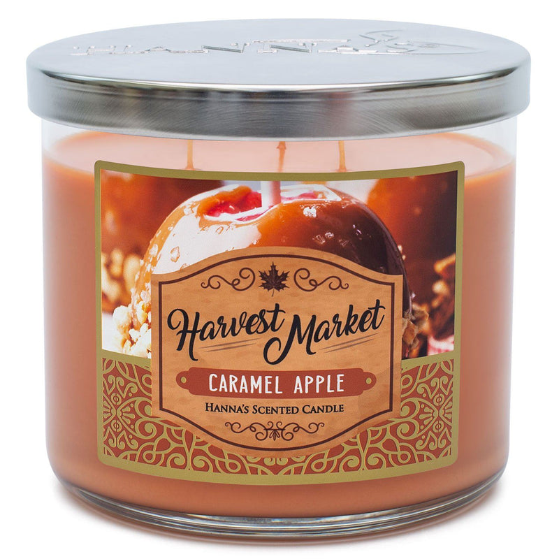 Caramel Apple Scented 3 Wick Candle