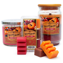 Harvest Market Scented 3 Wick Candle