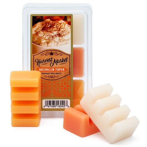 Marshmallow Pumpkin Scented Wax Melts Melts Candlemart.com $ 2.49