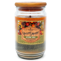 TimberWick Autumn Swag Scented Mottled Candle