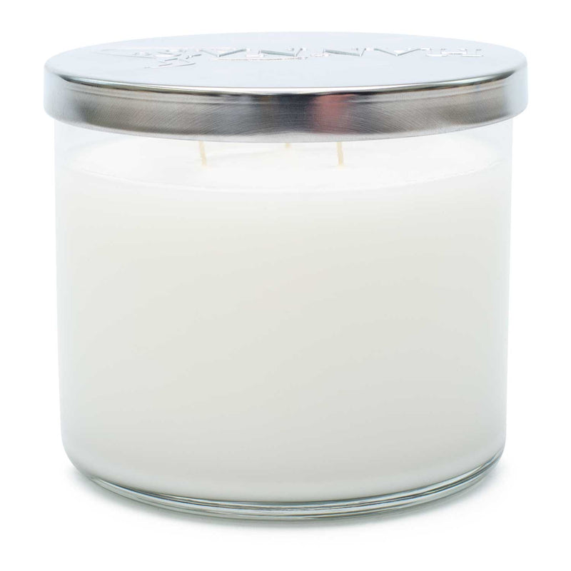 Crystal Creme 3 Wick Candle-SECONDS