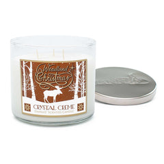 Crystal Creme 3 Wick Candle-SECONDS Candles Candlemart.com $ 6.00