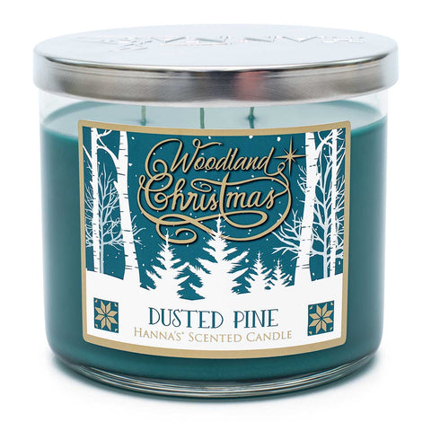 Dusted Pine Scented 3 Wick Candle Candles Candlemart.com $ 11.99