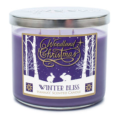 Winter Bliss Scented 3 Wick Candle