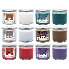 Falling Snow Scented 3 Wick Candle