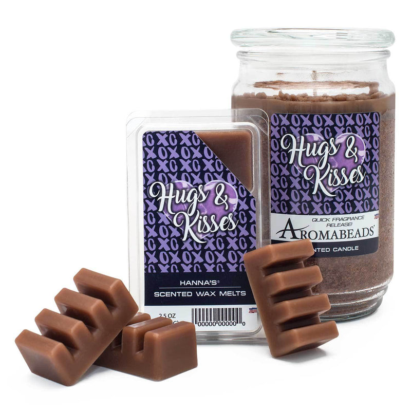 Aromabeads Hugs and Kisses Scented Candle