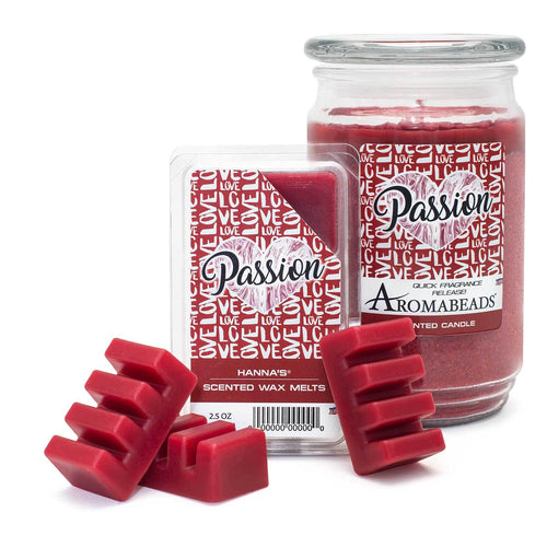 Aromabeads Passion Scented Candle