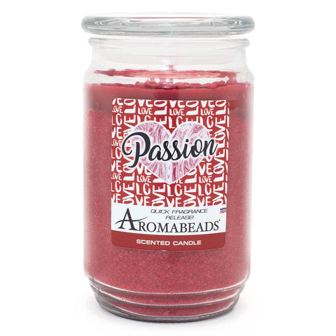 Aromabeads Passion Scented Candle Aromabeads Candlemart.com $ 9.99
