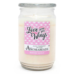 Aromabeads Love Gives You Wings Scented Candle