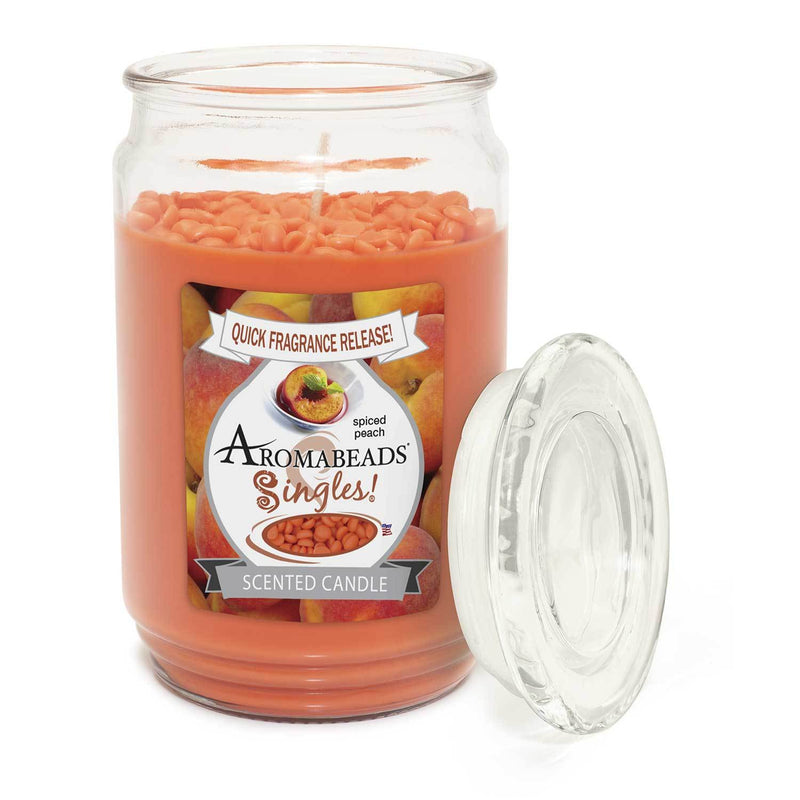Aromabeads Singles Spiced Peach Scented Candle