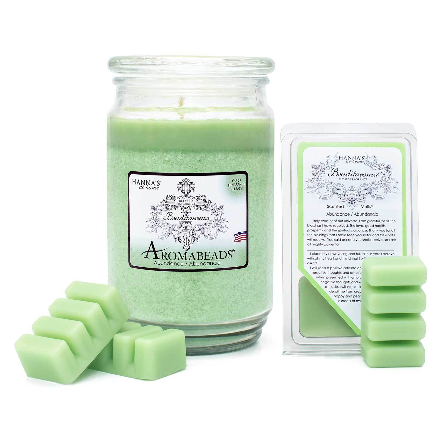 Aromabeads Abundance Scented Candle