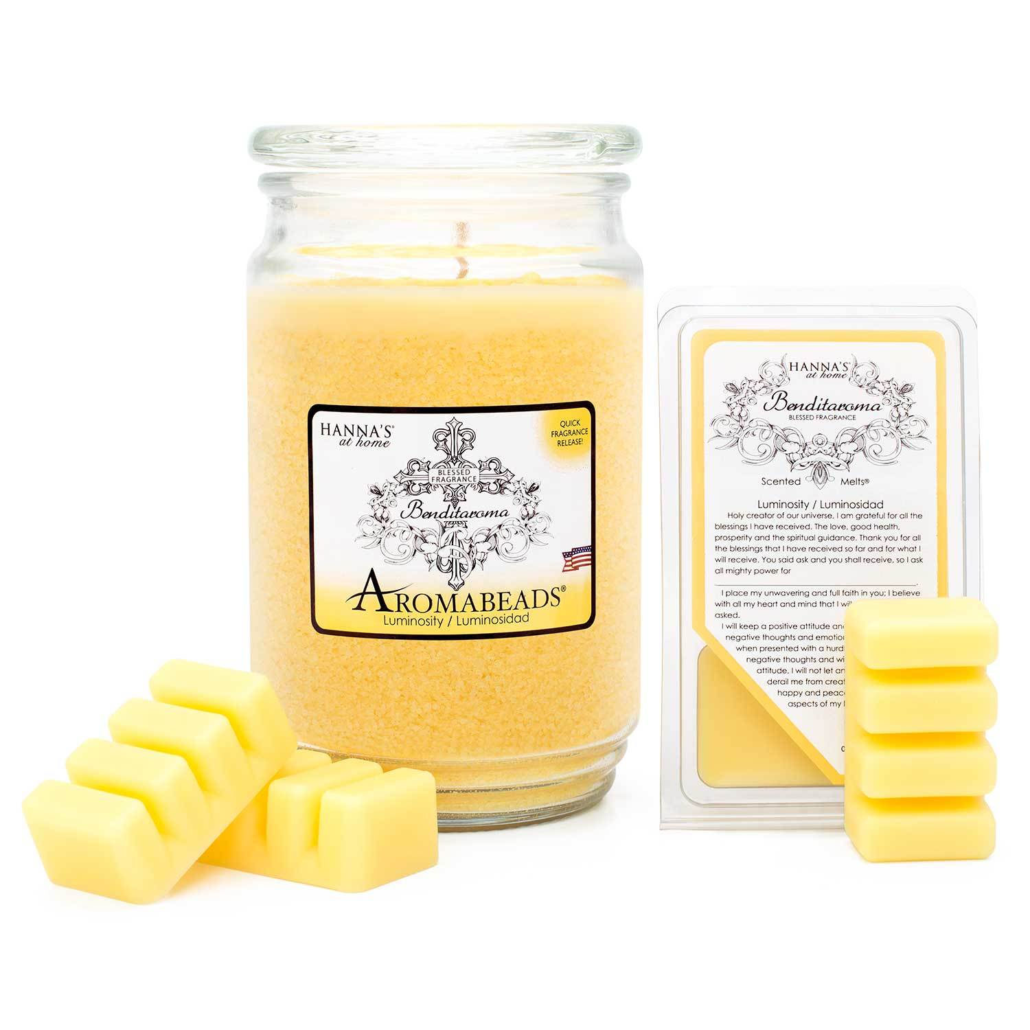 Luminosity Luminosidad Scented Wax Melts Melts Candlemart.com $ 1.99