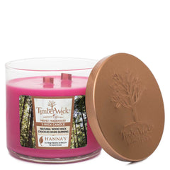 Timberwick Carmine Rose Scented 2 wick Candle