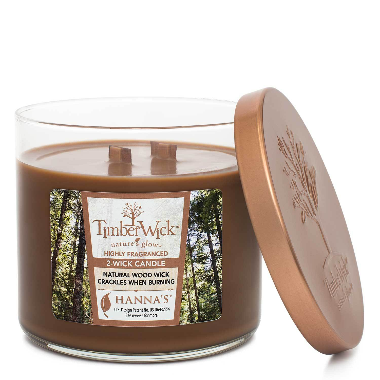 Timberwick Ember Glow Scented 2 wick Candle Candles Candlemart.com $ 14.99