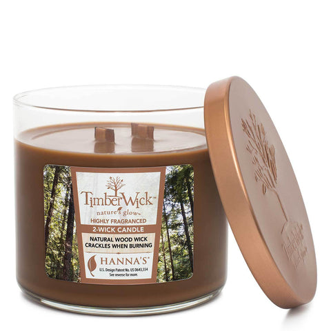 Timberwick Ember Glow Scented 2 wick Candle