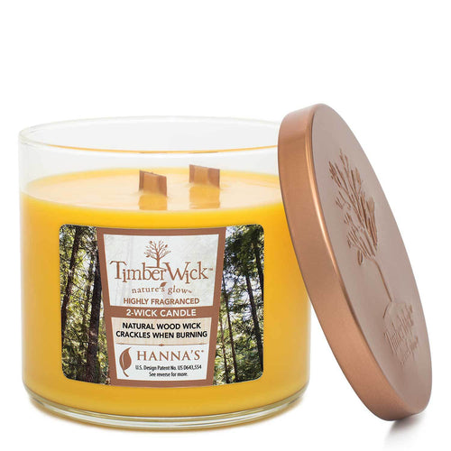 Timberwick Hawaiian Delight Scented 2 wick Candle