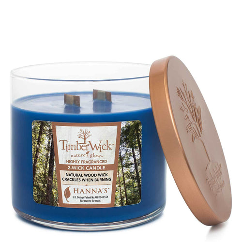 Timberwick Night Musk Scented 2 wick Candle