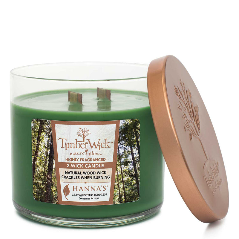 Timberwick Red Green 2-Pack Candles