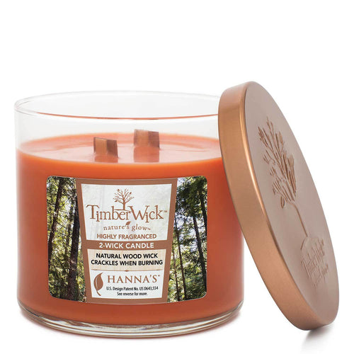 Timberwick Warm Gingerbread Scented 2 wick Candle