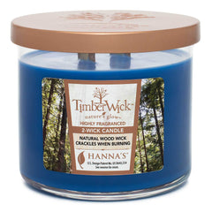 Timberwick Night Musk Scented 2 wick Candle Candles Candlemart.com $ 14.99