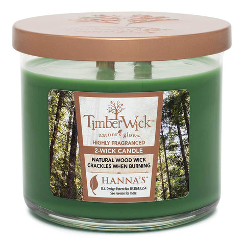 Timberwick Pine Meadow Scented 2 wick Candle Candles Candlemart.com $ 14.99