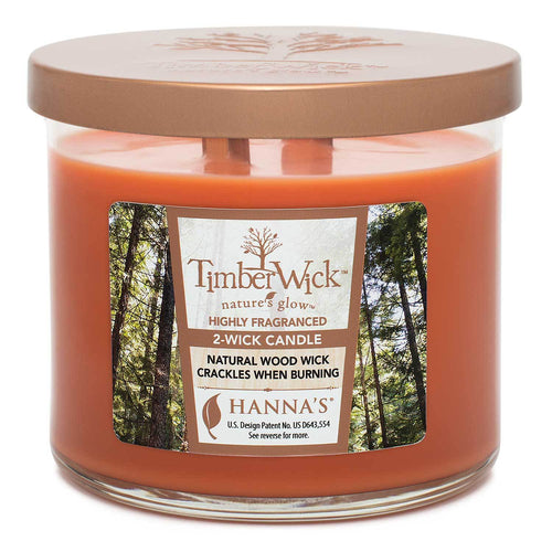 Timberwick Red Orange 2-Pack Candles