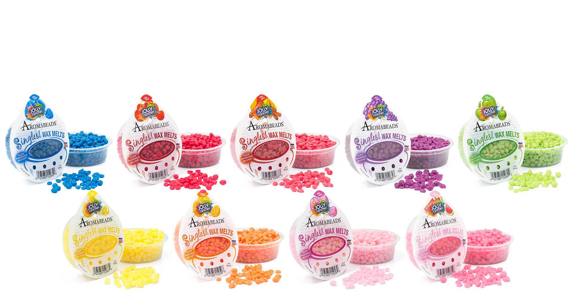 Aromabeads Singles JOLLY Rancher Watermelon Wax Melts Melts Candlemart.com $ 1.49