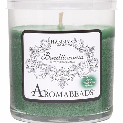 Benditaroma Aromabeads Prosperity Scented Tumbler Candle - Candlemart.com
