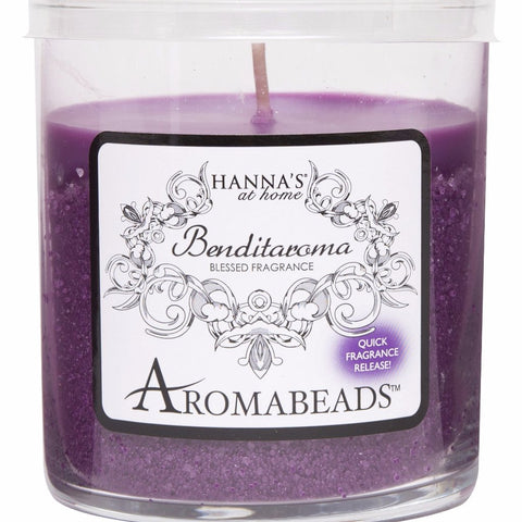 Benditaroma Aromabeads Spirituality Scented Tumbler Candle - Candlemart.com