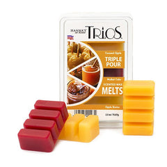 Fall Trios Mulled Cider Scented Wax Melts - Candlemart.com