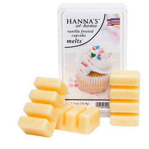 Vanilla Frosted Cupcake Scented Wax Melts - Candlemart.com
