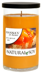 Natural Soy Juicy Apricot Jam Scented Soy Candle - Candlemart.com