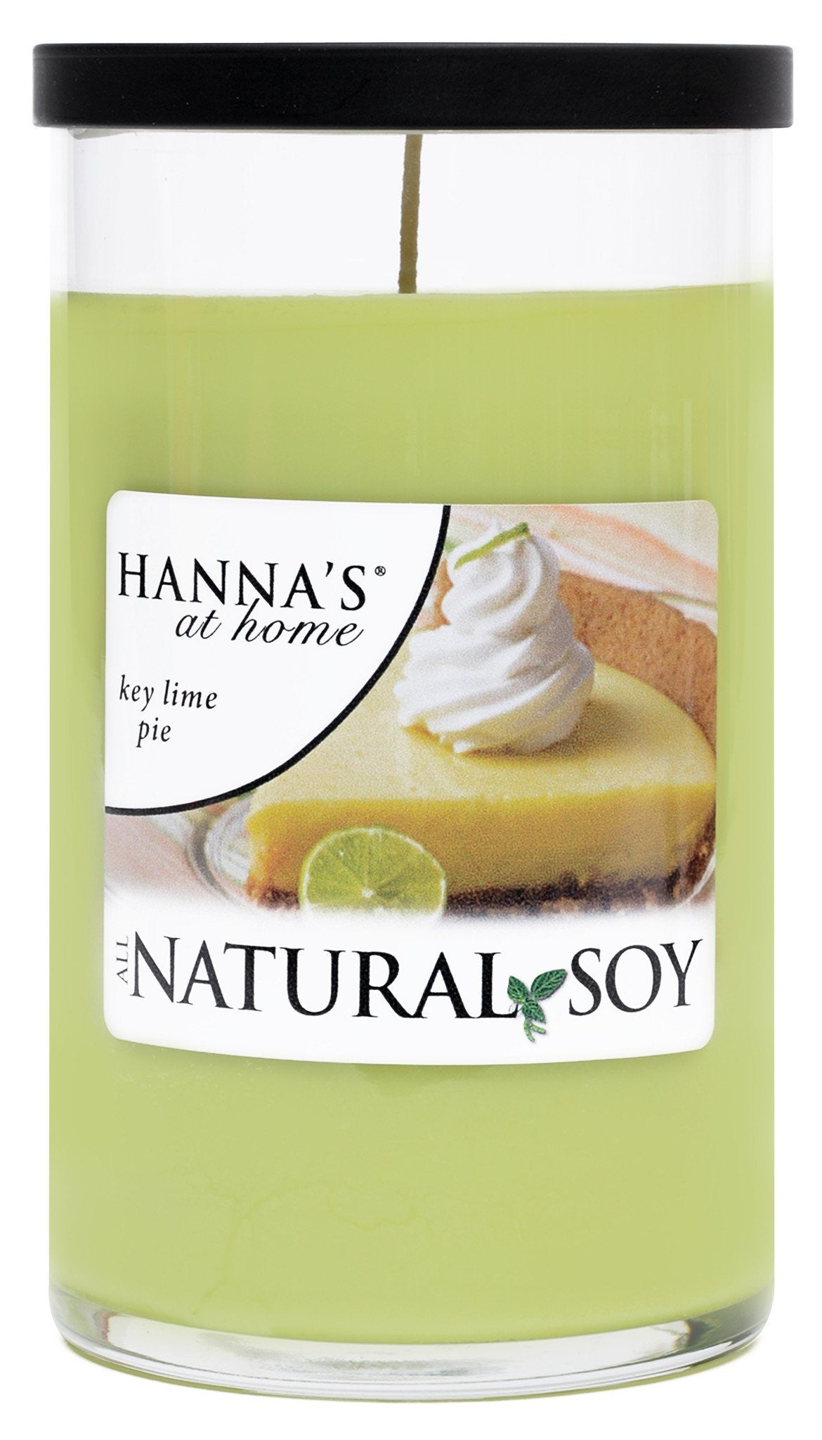 Natural Soy Key Lime Pie Scented Soy  Candle - Candlemart.com - 2
