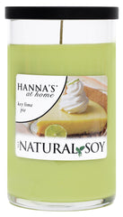 Natural Soy Key Lime Pie Scented Soy  Candle - Candlemart.com
