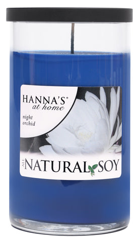 Natural Soy Night Orchid Scented Soy Candle - Candlemart.com