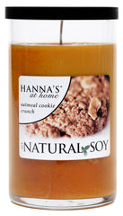 Natural Soy Oatmeal Cookie Crunch Scented Soy Candle - Candlemart.com
