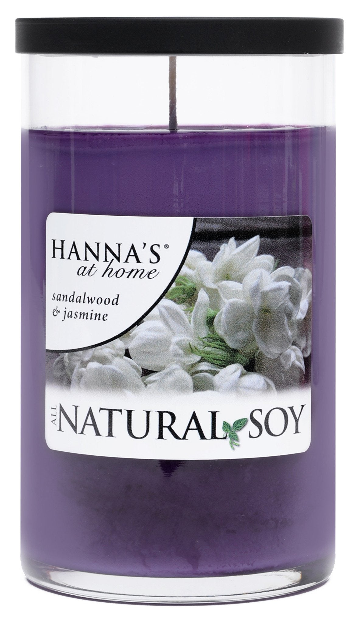 Natural Soy Sandalwood & Jasmine Scented Soy Candle - Candlemart.com